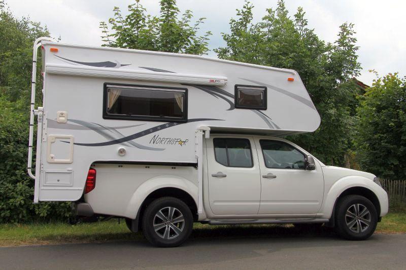 700scx Double Cab Demountable Camper